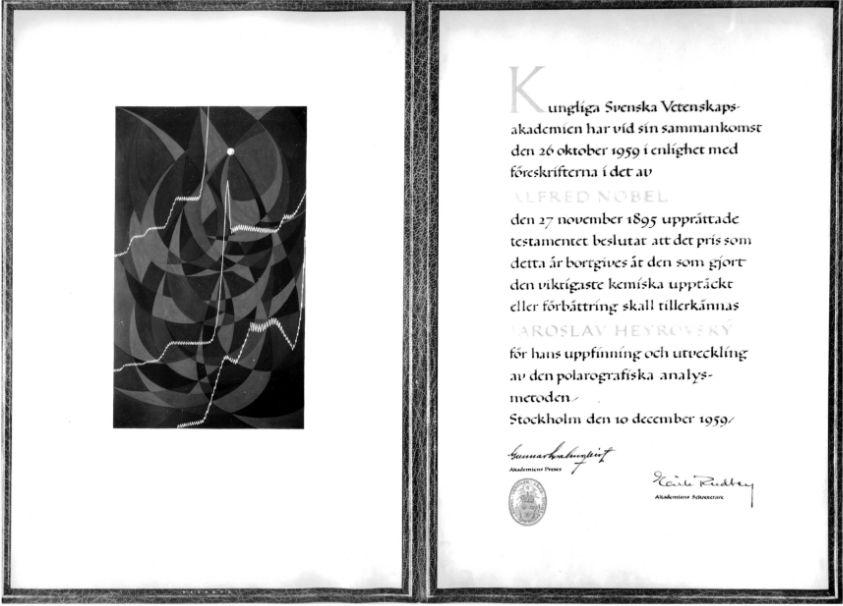 Diplom laureáta Nobelovy ceny