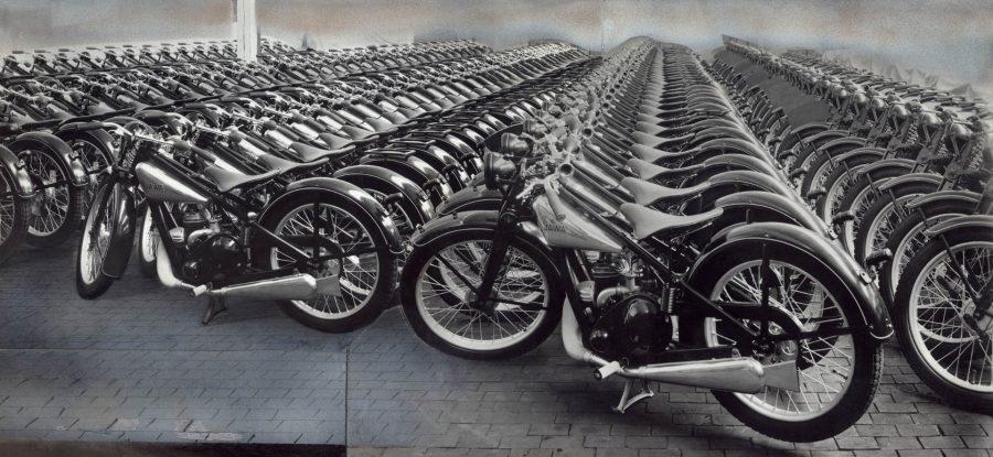 Motocykly JAWA 175, 1932; NTM