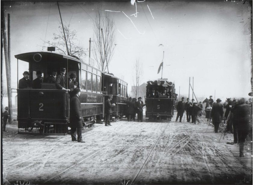 Elektrické tramvaje v Praze, 1896